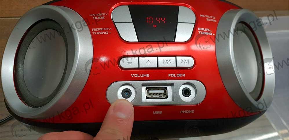 wykrywanie podsłuchów i kamer - podsłuch w radiu